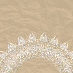 Gentle lace greeting card.