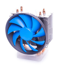 cpu cooler on a white background