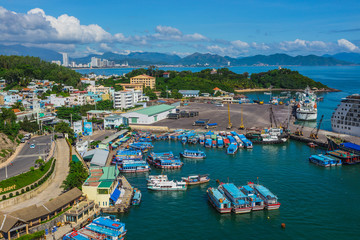 Nha Trang City, viewed from Vinpearl's Cable Car