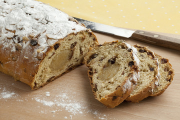 Traditional dutch easter bread