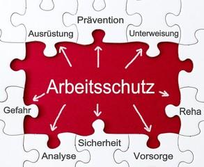 Vorbeugung - Arbeitsschutz - Puzzles