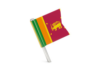 Flag pin of sri lanka
