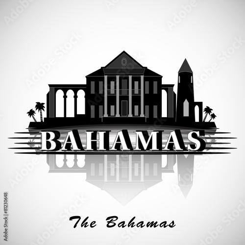 Modern Bahamas Skyline Design