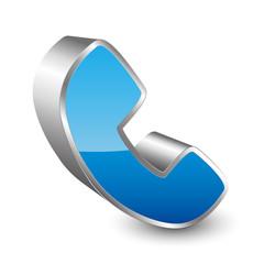 Telephone 3D icon