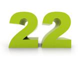number 22 - 81231621