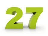 number 27 - 81231801
