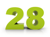 number 28 - 81231843