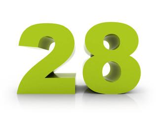 number 28