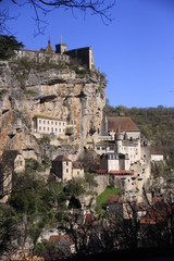 Rocamadour et son rocher