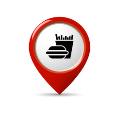 Locator / Icon / Web / Button