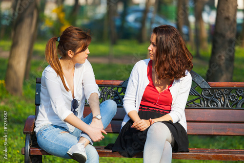 Best friends chatting - 81234487