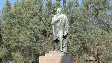 Alfredo Oriani Monument, Rome, Italy