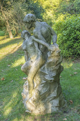 Couple About to Kiss Sculpture