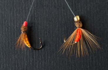 esche, accessori per la pesca