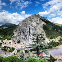 View from the top of Citadelle de Sisteron