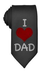 I Love Dad Tie