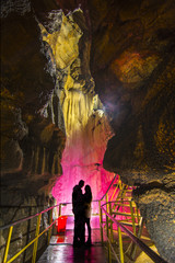 mağarada aşk ve sevgi