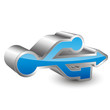 usb 3D icon