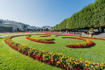 Mirabell Garden (Mirabellgarten) in Salzburg, Austria