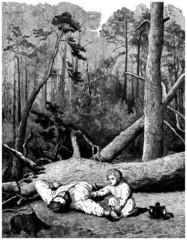 Accident : Dead Woodcutter - Bûcheron Mort