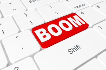 "Button ""BOOM"" on keyboard"