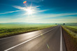 Sunny road - 81241627
