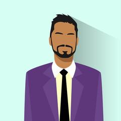 Businessman African American Race Profile Icon Hispanic Male