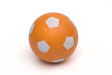 ball on the white background