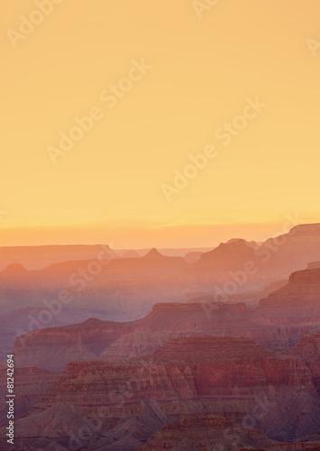 In de dag Canyon Grand Canyon Sunset, Arizona