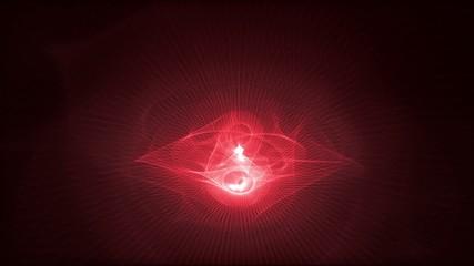 Dark red animated background with elegant patterns