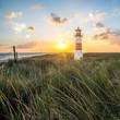 Leuchtturm in List auf Sylt am Ellenbogen - 81245439
