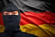 Leinwanddruck Bild - german danger