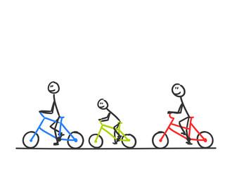 sm fahrrad ausflug familie II