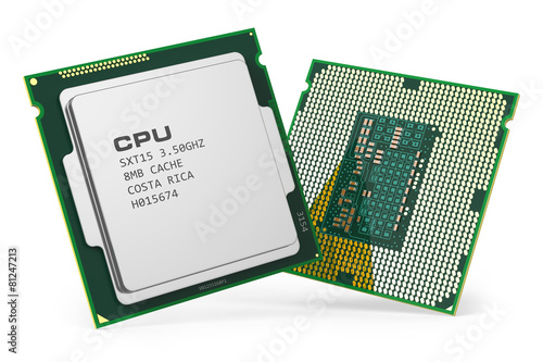 CPU chips - 81247213