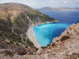 Myrtos Beach. Kefalonia, Greece