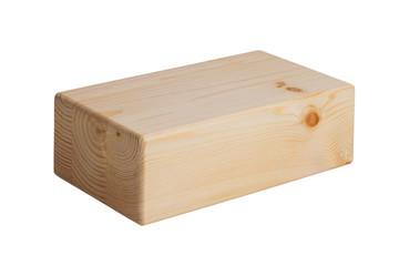 Wooden bricks for yoga