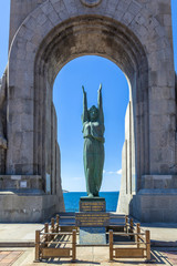 The Monument aux Mort  in Marseille