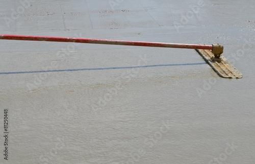 Foto op Plexiglas Vuurtoren / Mill Floating a concrete slab