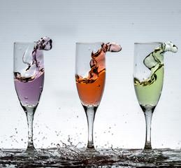 La danse du cocktail