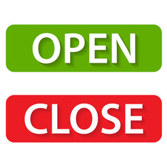 Open and close icons