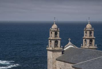 Punta da Barca. Muxia. Santuario. Galicia