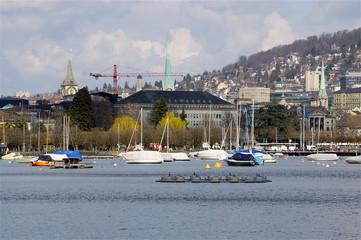 Seebecken Zürich City
