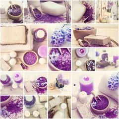 bath salt and soap