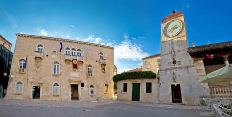 Trogir city hall square, UNESCO site