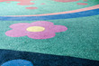 Colorful floor in play ground - 81253805