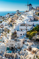 The City of Oia, Santorini