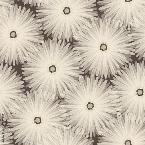 Seamless pattern. Floral stylish background. © Svetlana Sylenko