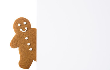 Gingerbread Advertising Board
