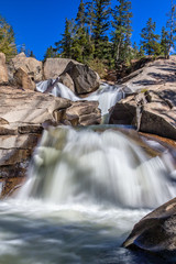 Colorado Mountain Waterfall