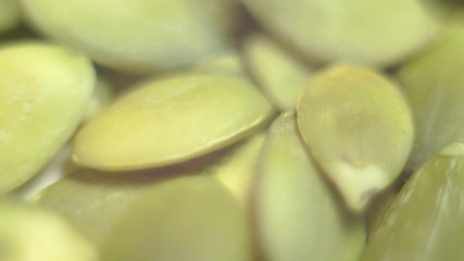 pumpkin seeds. macro